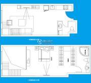 TOUCH悦城1室1厅2卫112平方米户型图