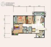 幸福汇3室2厅2卫119平方米户型图
