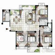 海西・未来区4室2厅2卫141平方米户型图
