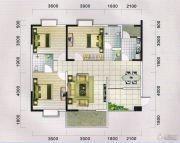 蓝宝湾3室2厅2卫120--123平方米户型图