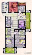 易居公馆4室2厅2卫110--120平方米户型图