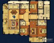 海星御和园4室2厅4卫238平方米户型图