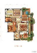 融创・玖礼6室3厅5卫305平方米户型图