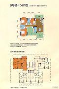 天河山海观3室1厅2卫139平方米户型图