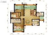 隆鑫十里画卷3室2厅2卫120平方米户型图