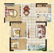 中正皇御园二期3室2厅1卫0平方米户型图