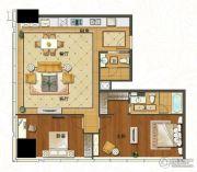 苏宁广场2室2厅1卫170平方米户型图
