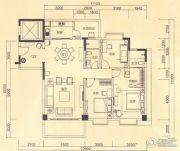 皇轩花园3室2厅2卫0平方米户型图