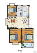 富源尚城3室2厅1卫99平方米户型图