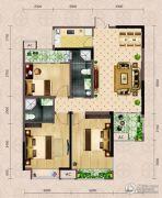 弘洋・拉菲庄园3室2厅2卫103平方米户型图