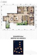 金辉城春上南滨4室2厅2卫122平方米户型图