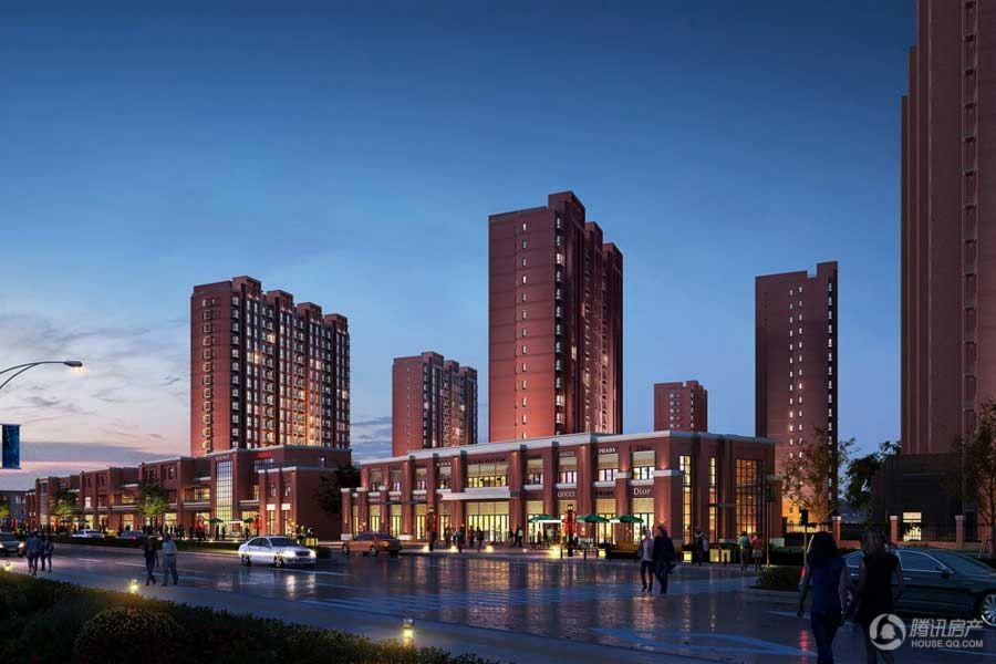 中国铁建·国际花园效果图