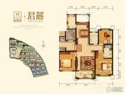 鲁德海德堡3室2厅2卫142平方米户型图