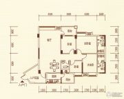 百福豪园4室2厅3卫146平方米户型图