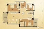 凤凰城4室2厅3卫161平方米户型图