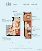 常绿林溪美地0室0厅0卫94平方米户型图