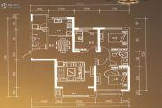 博雅园2室1厅1卫132平方米户型图