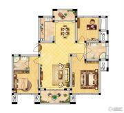 恒景国际花园 多层3室2厅2卫116平方米户型图