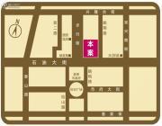 大商城市广场交通图
