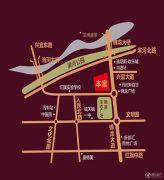 盛腾・怡景苑交通图