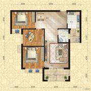 东方今典中央城3室2厅1卫112平方米户型图