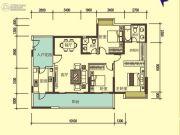 宝麒花园3室2厅2卫0平方米户型图