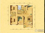 森嘉幸福里3室2厅2卫118平方米户型图