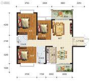 华东七里香(迎龙苑2期)3室2厅2卫119平方米户型图