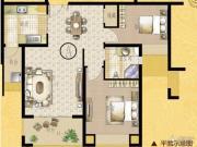 海门中南世纪锦城2室2厅1卫0平方米户型图