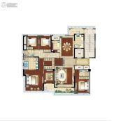 江湾城4室2厅2卫240平方米户型图
