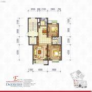 丽汤・首山梦之湾2室2厅1卫89平方米户型图