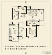 江南雅苑3室2厅2卫128--130平方米户型图