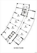 新世界中心写字楼0平方米户型图