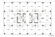 凤凰文化广场1室1厅1卫0平方米户型图
