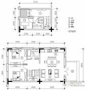 万科・湖心岛0室0厅0卫0平方米户型图