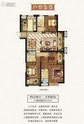 正荣・润海4室2厅3卫157平方米户型图