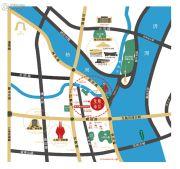 外滩・龙庭帝景交通图
