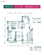 新加坡花园3室2厅2卫116平方米户型图