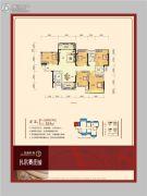 龙光普罗旺斯4室2厅2卫124平方米户型图