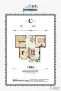 金域蓝湾2室2厅1卫0平方米户型图