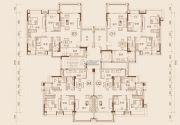 如愿居3室2厅2卫97--116平方米户型图