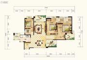 湘江壹号3室2厅3卫210平方米户型图