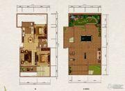 大理山水间(三期)2室2厅1卫83平方米户型图