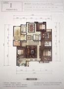 京能・天下川二期悦府4室2厅2卫0平方米户型图