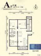 大同月亮湾3室2厅2卫117平方米户型图
