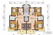 申鑫名城2室2厅1卫91平方米户型图
