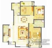 南郡3室2厅2卫0平方米户型图