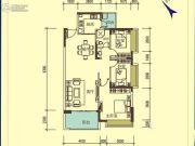宝麒花园3室2厅1卫0平方米户型图