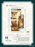 公园6号3室2厅2卫106平方米户型图