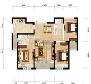 三江・尊园3室2厅2卫116平方米户型图
